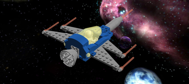 "The LL1018-series ""Plesiosaur"" serves as a space fighter and general-purpose single-crew spaceship"