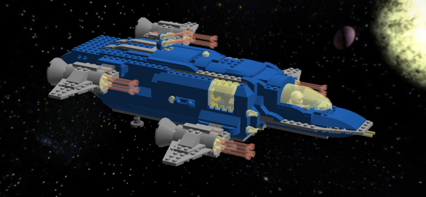 "The LL1028-series ""Pliosaur"" spaceship replaces the old LL928-series in the Saurian Sector"